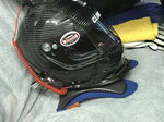 Impact Carbon Fiber Air Draft with Hans Device