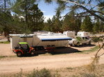 39ft triple axle Trailer Toy Hauler with separate 20' garage