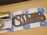 326-455 Pontiac Blower Manifold Satin  for Sale $765
