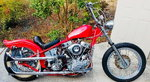 1951 Harley Davidson Panhead Chopper.