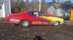 71 Chevelle Drag Car & trailer