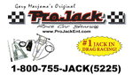 ProJack Race Car Stands Real Pro Jacks