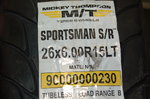 MICKEY THOMPSON SPORTSMAN FRONT TIRES NHRA DRAG RACING