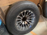 235/85R16 Tire on Aluminum Rim  for sale $400