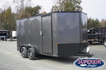 2020 Continental Cargo 7x14 Blk Out Pkg w/ Ramp Door  for sale $5,450