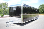 2019 ATC RAVEN 24ft Aluminum Enclosed Car Trailer
