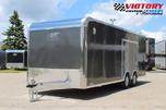ATC 8.5'x22' Aluminum Car Hauler w/ Escape Door
