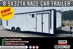 🏎️ Race Car Trailer - IN STOCK NOW   Car Hauler   Race   for sale $24,999