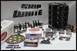 SBC CHEVY 383 SHORT BLOCK KIT FORGED +4cc DOME 4.030 PISTONS  for sale $1,995