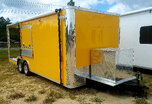Yellow BBQ Concession 8.5x22TA for Sale $17,421