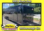 2020 Black on Black 8.5x34 Cargo Mate w/A/C & Winch