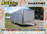 8.5x24' Bravo Trailer with Premium Escape Door  for sale $23,999