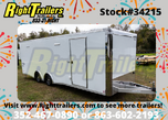 2021 8.5x24 BRAVO RACE TRAILER W/ ESCAPE DOOR  for sale $24,999