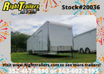 2021 8.5' x 34' Cargo Mate Race Trailer  for sale $27,999