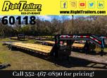 2021 8.5x40 PJ Gooseneck Equipment Trailer  for Sale