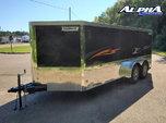 2021 Haulmark 7' x 16' V-Nose Lowhauler Motorcycle Trailer 7 for Sale $8,950