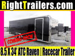 8.5x34 ATC Quest | Race Car Trailer [Black]