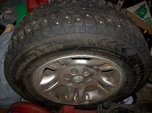 Three New 235x70xR16 Tires On Wheels  for sale $120