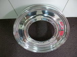 WELD RACING ALUMASTAR 17x2.5 SPINDLE MOUNT DRAGSTER WHEEL OU  for sale $300