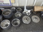 Blower pulleys and idler setup etc  for sale $65