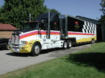 1990 Kenworth and 48' Gold Rush Trailer  for sale $62,500