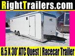 8.5x30 ATC Quest   Race Car Trailer