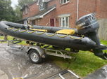 5.5m Humber RIB boat on trailer 150hpv6  for sale $3,500