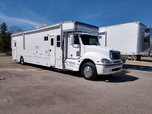 2006 Haulmark Motorgarage Mercedes 450HP 43' 1-Slides with B