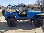 Texas/Mississippi Rust Free 1990 JEEP YJ WRANGLER, ISLANDER,  for sale $13,500