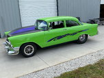 blown pro street 1956 chevy with air