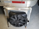 Alluminum radiator with fan