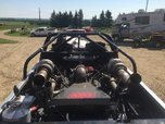 Precision twin turbo set up for BBC  for sale $15,000