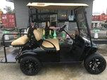 EZGO custom gas golf cart