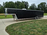 40ft Exiss Aluminum Race Trailer  for sale $17,900