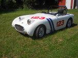 Austin Healey Bugeye Sprite vintage race car  for sale $12,500