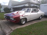 Beautiful 69 Chevelle Drag Car with Title