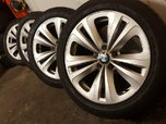 18″ BMW 6 series ALLOY WHEELS FIT 5 6 7 SERIES AND VIV  for sale $250
