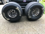 Weld V-series 15X14 Double Bead Locks with new Hoosier 32x14  for sale $3,100