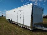 Aluminum Frame 34' Cargo Mate Eliminator SS Race Trailer