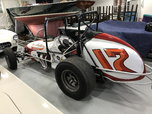 1970 Vance sprint Dirt Track Race Car