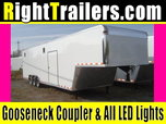 IN STOCK - Vintage 40' Race Car Trailer - 7'6