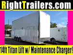26ft Stacker Race Trailer - Nationwide Delivery - 14' Lift for Sale $24,999