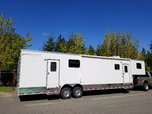 40' Rance Aluminum Race Trailer w/ LQ  for sale $35,500