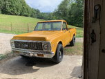 1972 Chevrolet C10 Pickup  for sale $11,500