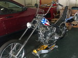 1951 panhead (captain America)  for sale $70,000