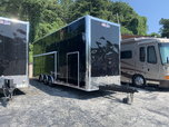 NEW 30' OUTLAW STACKER RACE TRAILER WITH 10' LOF  for sale $36,995