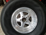 Drag Wheels w/ Slicks   for sale $1,000