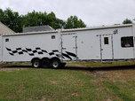 2002 Continental Cargo Toy hauler 48 ft. Toyhauler  for sale $12,900