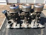 SBC Tri Power Setup Comple gasser ratrod prostreet  for sale $1,000