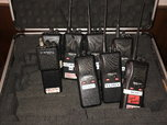 Racing electronics radios and headsets  for sale $750